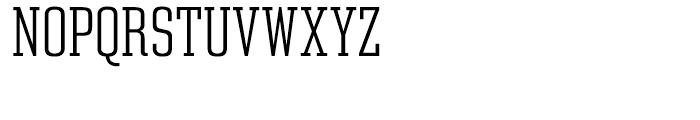 Constructa ExtraLight Font UPPERCASE