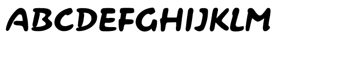Contact Pro Regular Font UPPERCASE