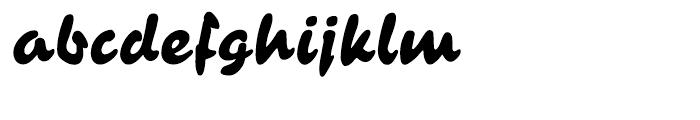 Contact Pro Regular Font LOWERCASE