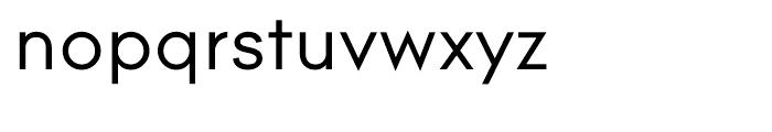 Contax 55 Regular Font LOWERCASE