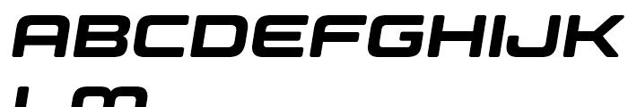 Controller Five Oblique Font UPPERCASE