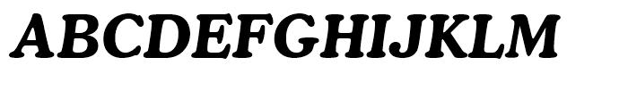 Cooper BT Bold Italic Font UPPERCASE