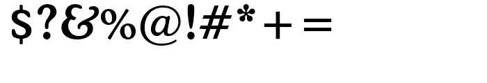 Cooper BT Medium Font OTHER CHARS