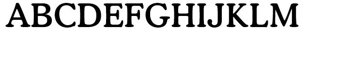 Cooper BT Medium Font UPPERCASE
