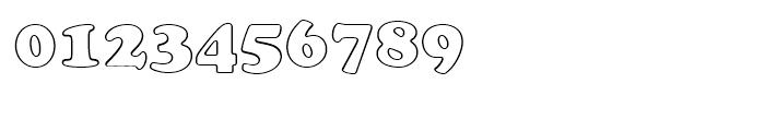 Cooper Black Outline Standard d Font OTHER CHARS