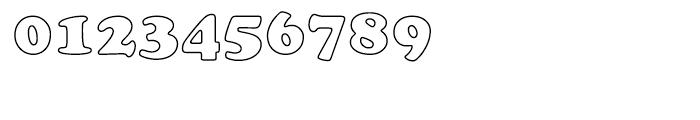Cooper Black Outline Font OTHER CHARS