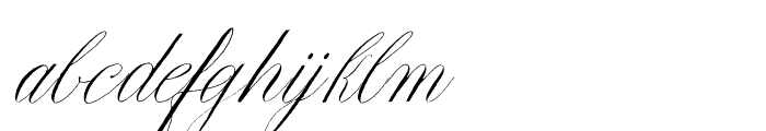Copperlove Regular Font LOWERCASE