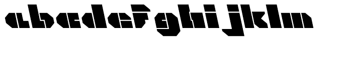 Cor Ten Open Fat A Italic Font LOWERCASE
