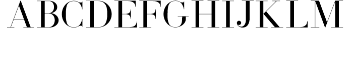 Coral Blush Serif Font UPPERCASE