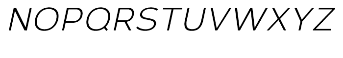 Corbert Italic Font UPPERCASE