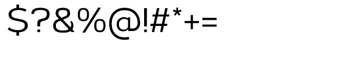 Corbert Medium Font OTHER CHARS