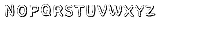 Core Bandi Regular Font UPPERCASE