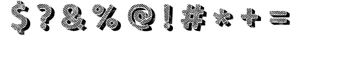 Core Circus Rough Pierrot3 Font OTHER CHARS
