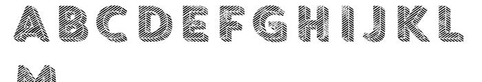 Core Circus Rough Pierrot4 Font UPPERCASE