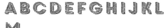 Core Circus Rough Pierrot4 Font LOWERCASE