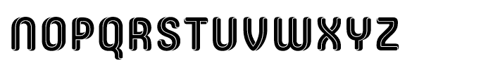 Core Escher A Font UPPERCASE