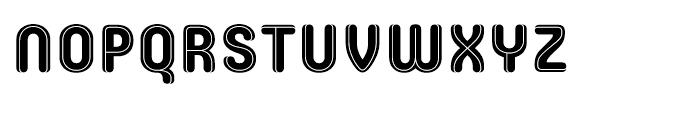 Core Escher B Middle Font UPPERCASE