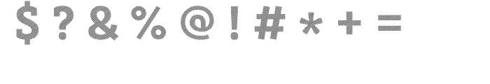Core Magic 2D Line2 Font OTHER CHARS