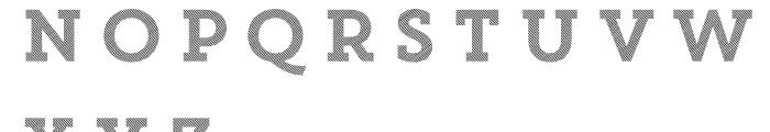 Core Magic 2D Line2 Font UPPERCASE
