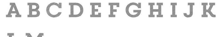 Core Magic 2D Line2 Font LOWERCASE