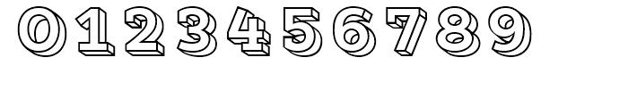 Core Magic 3D Frame Font OTHER CHARS