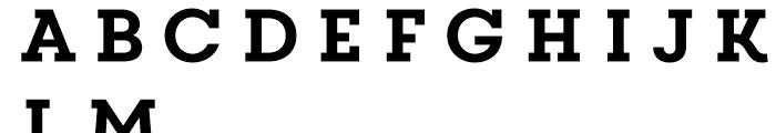 Core Magic Regular Font LOWERCASE