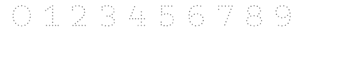 Core Magic Rough 2D Dot3 Font OTHER CHARS