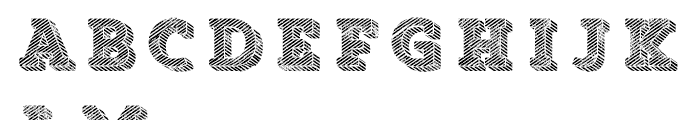 Core Magic Rough Wand4 Font UPPERCASE