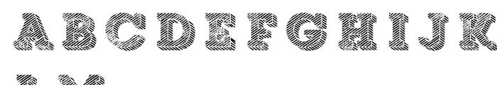 Core Magic Rough Wand4 Font LOWERCASE