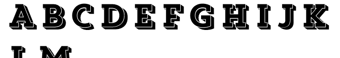 Core Magic Wand2 Font UPPERCASE