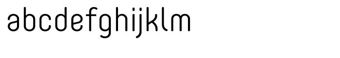Core Mellow 35 Light Font LOWERCASE