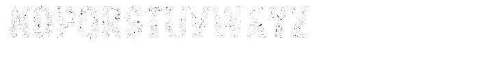 Core Paint A9 Font UPPERCASE