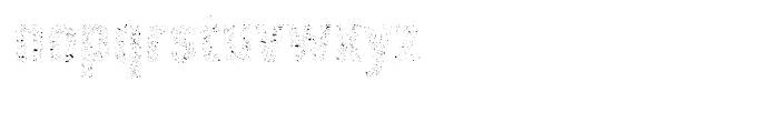 Core Paint A9 Font LOWERCASE