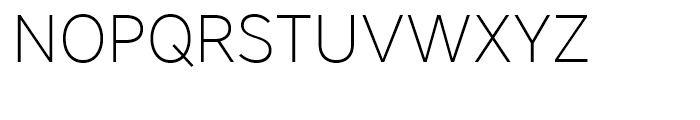 Core Sans A 25 ExtraLight Font UPPERCASE