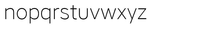 Core Sans A 25 ExtraLight Font LOWERCASE