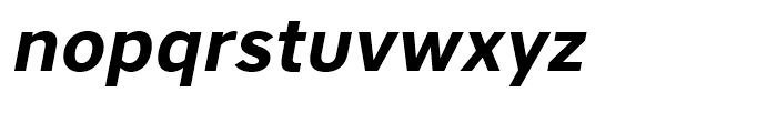 Core Sans A 65 Bold Italic Font LOWERCASE