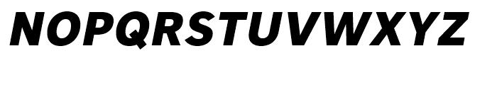 Core Sans A 75 ExtraBold Italic Font UPPERCASE