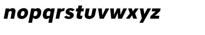 Core Sans A 75 ExtraBold Italic Font LOWERCASE