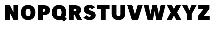 Core Sans A 85 Heavy Font UPPERCASE