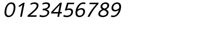 Core Sans B 35 Regular Italic Font OTHER CHARS