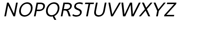 Core Sans B 35 Regular Italic Font UPPERCASE