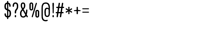 Core Sans DS 37 Cn Regular Font OTHER CHARS