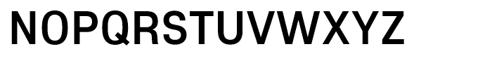 Core Sans E 55 Medium Font UPPERCASE
