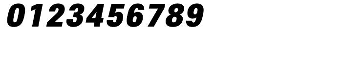 Core Sans E 95 Black Italic Font OTHER CHARS