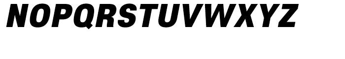 Core Sans E 95 Black Italic Font UPPERCASE