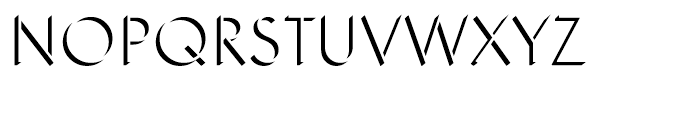 Core Sans G Shadow Font UPPERCASE