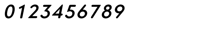 Core Sans GS 55 Medium Italic Font OTHER CHARS
