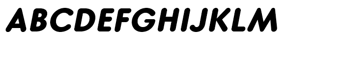 Core Sans GS 75 ExtraBold Italic Font UPPERCASE
