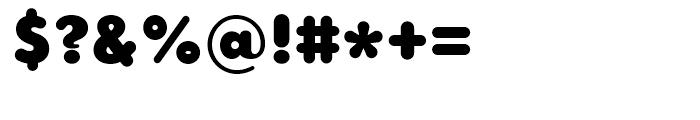 Core Sans GS 95 Black Font OTHER CHARS