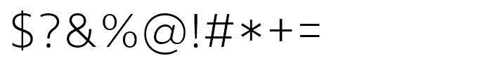 Core Sans Light Font OTHER CHARS